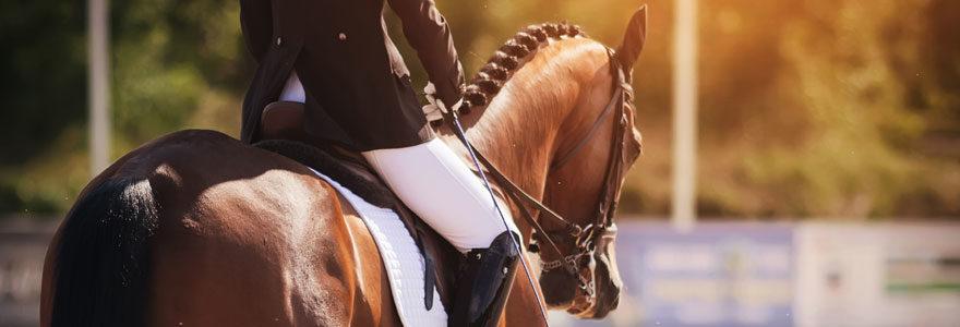 Faire du cheval